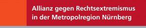 Logo: Allianz gegen Rechtsextremismus in der Metropolregion Nürnberg